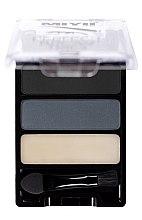 Parfumuri și produse cosmetice Paletă pentru machiajul sprâncenelor - Miyo Perfect Brow Trio