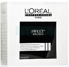 Parfumuri și produse cosmetice Servețele pentru îndepărtarea petelor de vopsea, 50m - L'oreal Professionnel Sweet Meches
