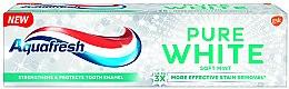 """Parfumuri și produse cosmetice Pastă de dinți cu efect de albire """"Mentă"""" - Aquafresh Pure White Soft Mint"""