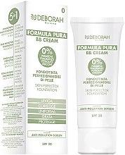 Parfumuri și produse cosmetice BB-Cremă Fond de ten - Deborah Milano Formula Pura BB Cream 5in1