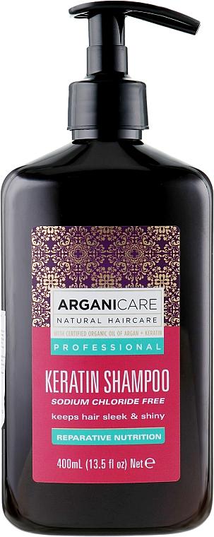 Șampon cu keratină pentru toate tipurile de păr - Arganicare Keratin Shampoo