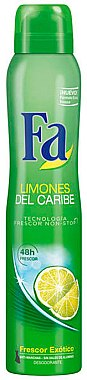 "Deodorant-spray ""Limones"" - Fa Caribbean Lemon Deodorant Spray"