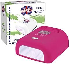 Parfumuri și produse cosmetice Лампа для ногтей UV, темно-розовая - Ronney Profesional Judy UV 36W (GY-UV-230) Lamp