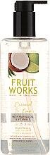 """Parfumuri și produse cosmetice Săpun """"Cocos și lime"""" - Grace Cole Fruit Works Coconut & Lime Hand Wash"""