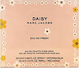 Parfumuri și produse cosmetice Marc Jacobs Daisy Eau So Fresh - Set (edt/20ml + edt/15ml refil)
