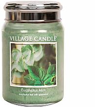 Parfumuri și produse cosmetice Ароматическая свеча - Village Candle Eucalyptus Mint