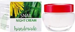 Parfumuri și produse cosmetice Cremă de față cu extract de melc - Hristina Cosmetics Handmade Snail Night Cream