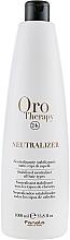 Parfumuri și produse cosmetice Neutralizator și stabilizator pentru biowave - Fanola Oro Therapy Neutralizer