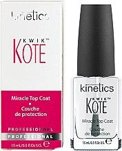 Parfumuri și produse cosmetice Strat Superior pentru uscare rapidă - Kinetics Kwik Kote Miracle Top Coat