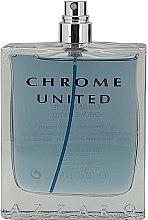 Parfumuri și produse cosmetice Azzaro Chrome United - Apă de toaletă (tester fără capac)