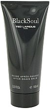 Parfumuri și produse cosmetice Ted Lapidus Black Soul - Balsam după ras