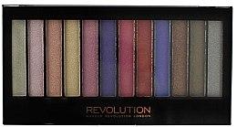Parfumuri și produse cosmetice Paleta fard de pleoape, 12 nuanţe - Makeup Revolution Redemption Palette Unicorns Are Real