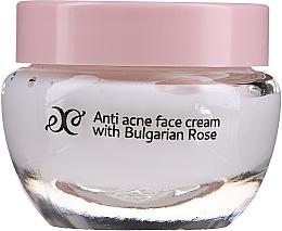 Parfumuri și produse cosmetice Cremă facială cu ulei de trandafir - Hristina Cosmetics Rose Anti Acne Face Cream