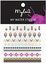 "Parfumuri și produse cosmetice Abțibilduri pentru unghii ""Aztek"" - MylaQ My Aztek Sticker"