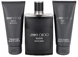 Духи, Парфюмерия, косметика Jimmy Choo Man Intense Travel Set - Set (edt/100ml+ash/b/100ml+sh/gel/100ml)