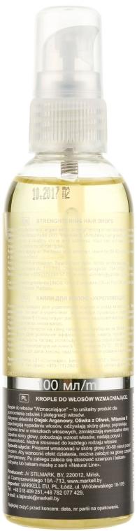 Picături de întărire pentru păr - Markell Cosmetics Natural Line  — Imagine N2
