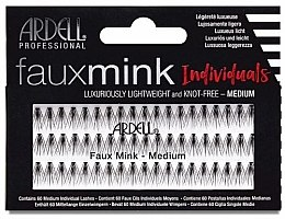 Parfumuri și produse cosmetice Gene false - Ardell Faux Mink Individuals Knot Free Medium Black
