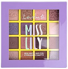Parfumuri și produse cosmetice Paletă farduri de ochi - Lovely Miss Lily Eyeshadow Palette