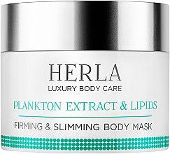 Parfumuri și produse cosmetice Mască remodelatoare pentru corp - Herla Luxury Body Care Plankton Extract & Lipids Body Mask