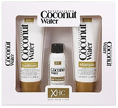Parfumuri și produse cosmetice Set - Xpel Marketing Ltd Coconut Water Revitalising (shm/100 ml + cond/100 ml + ser/30 ml)