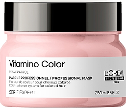 Parfumuri și produse cosmetice Mască pentru păr vopsit - L'Oreal Professionnel Serie Expert Vitamino Color Resveratrol Mask