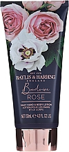 Set - Baylis & Harding Boudoire Rose Set (sh/gel/130ml + sh/gel/300ml + lot/130ml + crystals/100g + bath/f/300ml + soap/100g) — Imagine N4