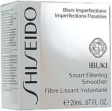 Ser pentru față - Shiseido Ibuki Smart Filtering Smoother — Imagine N2
