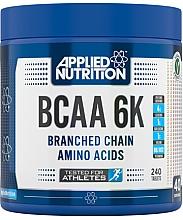 "Parfumuri și produse cosmetice Supliment alimentar ""BCAA 6K 4: 1: 1"" 240 comprimate - Applied Nutrition BCAA 6K 4:1:1"