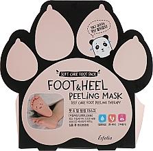 Parfumuri și produse cosmetice Șosete peeling pentru picioare - Esfolio Foot & heel Peeling Mask