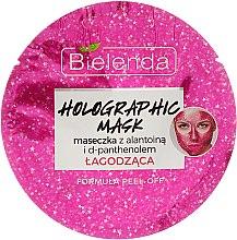 Parfumuri și produse cosmetice Mască de față cu d-pantenol - Bielenda Holographic Mask Peel-Off