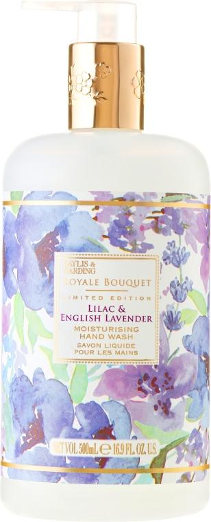 Săpun lichid pentru mâini - Baylis & Harding Royale Bouquet Lilac & English Lavender Hand Wash