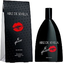 Parfumuri și produse cosmetice Instituto Espanol Aire de Sevilla Si Quiero - Apă de toaletă