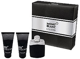 Parfumuri și produse cosmetice Montblanc Legend - Set (edt/100ml+asb/100ml+shower/gel/100ml)