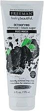 """Parfumuri și produse cosmetice Mască de față cu nămol """"Cărbune și zahăr negru"""" - Freeman Feeling Beautiful Charcoal & Black Sugar Mud Mask"""
