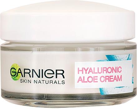Cremă hidratantă de față - Garnier Skin Naturals Hyaluronic Aloe Day Cream — Imagine N1