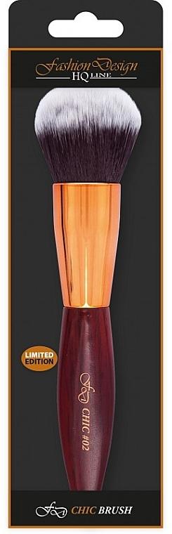 Pensulă pentru pudră și bronzer, 38044 - Top Choice Fashion Design Chic #02
