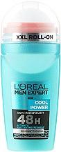 Духи, Парфюмерия, косметика Дезодорант шариковый - L'Oreal Paris Men Expert Cool Power Deodorant Roll-on