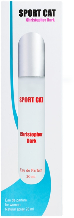 Christopher Dark Sport Cat - Apă de parfum (mini)