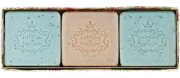 Parfumuri și produse cosmetice Set - Essencias De Portugal Aromas Collection Summer Set (soap/3x80g)