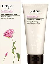 Parfumuri și produse cosmetice Mască pentru hidratarea profundă a feței - Jurlique Rose Moisture Plus Moisturising Cream Mask