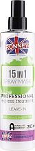 Spray pentru toate tipurile de păr - Ronney 15in1 Spray Mask Professional Express Treatment Leave-In — фото N1