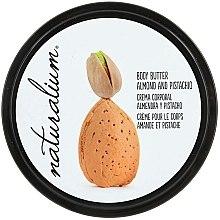 """Parfumuri și produse cosmetice Ulei de corp """"Migdale și fistic"""" - Naturalium Body Butter Almond And Pistachio"""