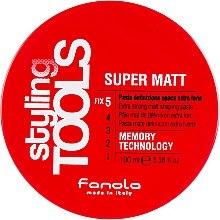 Parfumuri și produse cosmetice Pastă de păr, fixare puternică - Fanola Tools Super Matt Paste