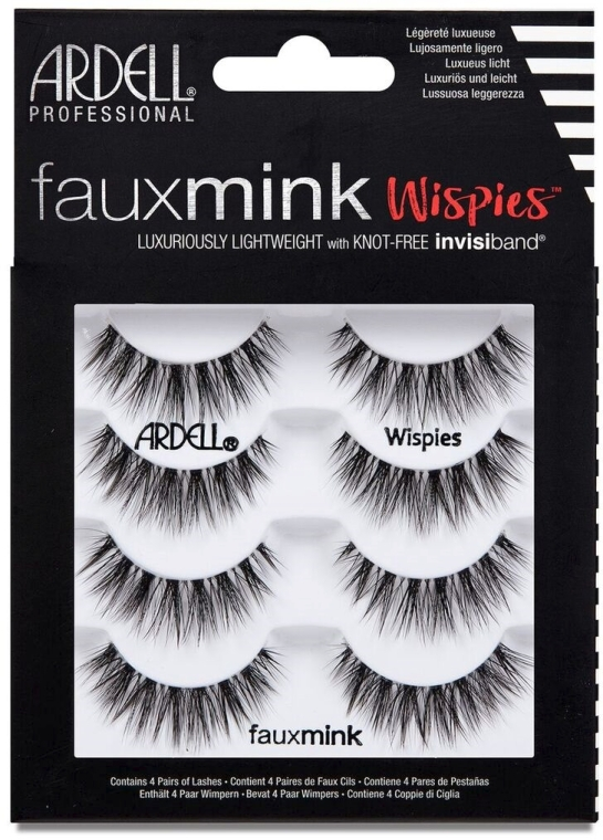 Gene false - Ardell Faux Mink Multipack Wispies — Imagine N1