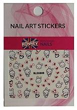 Parfumuri și produse cosmetice Nail Art Stickers - Ronney Professional Nail Art Stickers (1 buc.)