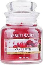 Parfumuri și produse cosmetice Lumânare parfumată în borcan - Yankee Candle Cranberry Ice
