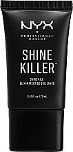 Parfumuri și produse cosmetice Baza de machiaj cu efect matifiant - NYX Professional Makeup Shine Killer