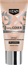Parfumuri și produse cosmetice Fond de ten, impermeabil - Hean Long Cover Waterproof Foundation