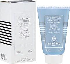 """Parfumuri și produse cosmetice Mască pentru față """"Gel din flori"""" - Sisley Gel Express Aux Fleurs Express Flower Gel"""