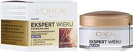 Parfumuri și produse cosmetice Cremă îngrijire de noapte împotriva ridurilor - L'Oreal Paris Age Specialist Night Cream 70+